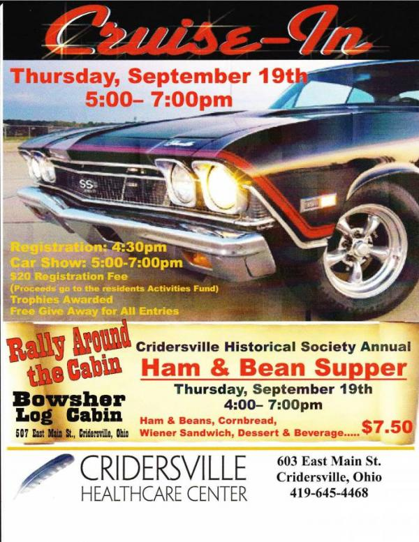 Rally Around the Cabin (Cruise-In & Bean Supper) | Village